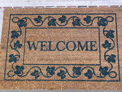 Welcome Mat Small